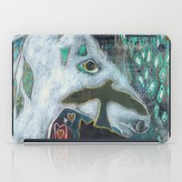 compass iPad Cases featuring Compass by Pixie Campbell