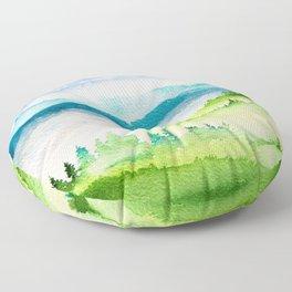 Spring Scenery #10 Floor Pillow