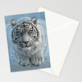 White Tiger - Wild Intentions Stationery Cards