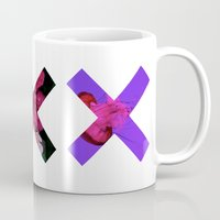 holographic Mugs featuring XXX by Sara Eshak