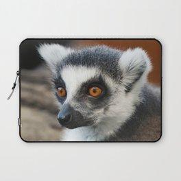 Ring tailed Lemur (Lemur catta) close up portrait Laptop Sleeve