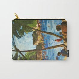 """""""Welcome to Streets Beach"""" Carry-All Pouch"""
