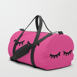 Lashes - Hot Pink Duffle Bag