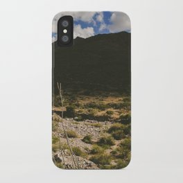 A Hike Through The Franklin Mountains iPhone Case