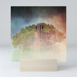 Ghostly Garden Shipwreck Mini Art Print