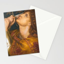 Joan of Arc by Dante Gabriel Rossetti, 1864 Stationery Cards