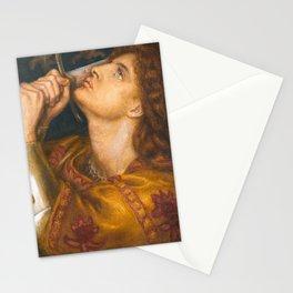 Joan of Arc by Dante Gabriel Rossetti, 1864 Stationery Cards