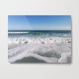 Sea of Sicily Metal Print