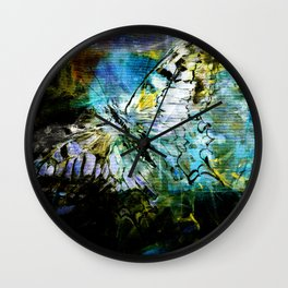 The birth of the butterfly Wall Clock