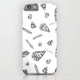 Lithic pattern iPhone Case