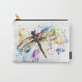 Dragonfly - Rainbow Wings Carry-All Pouch