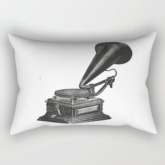 Gramophone 2 Rectangular Pillow