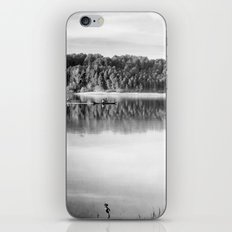 Love the nature. Adventure at the lake iPhone & iPod Skin