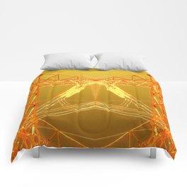 Energy in Gold Comforters