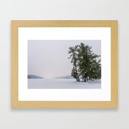 Beautiful Winter Framed Art Print