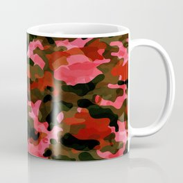 Camouflage (Red) Coffee Mug