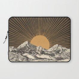 Mountainscape 6 - Night Sun Laptop Sleeve