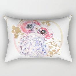 Every Peacock Wants A Lovely Peahen Rectangular Pillow