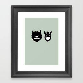 Carol & Max Framed Art Print
