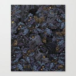 Fit In (moonlit blue) Canvas Print