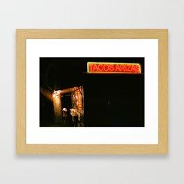 Tacos Arizas Framed Art Print