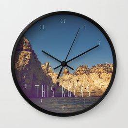THIS ROCKS Wall Clock