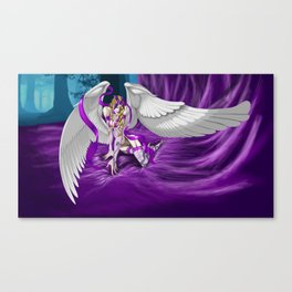Lilith Violet Touch, The Purple Angel Canvas Print