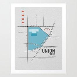 Parks of Chicago: Union Park Art Print