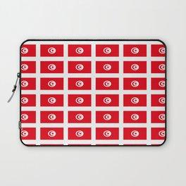 flag of tunisia 2 -tunisie, tunisian,tunis,Maghreb. Laptop Sleeve