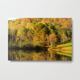 Fall Colors of Lost Mountain Metal Print