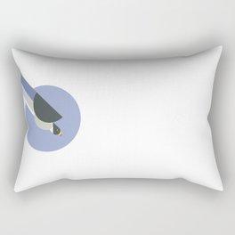 Peregrine Falcon vector illustration Rectangular Pillow