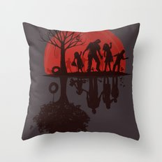 A Family Once (dark version) Throw Pillow