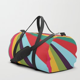 Bright Rays of Light - Circus Tent - Pride Beams - 57 Montgomery Ave Duffle Bag