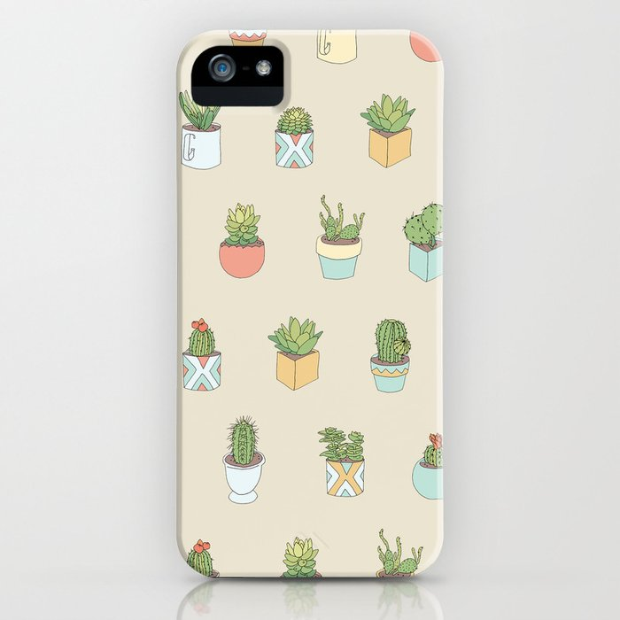 Cute Succulents iPhone Case