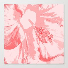 Intimate Pink  Canvas Print