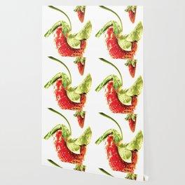 Strawberry Trio Wallpaper