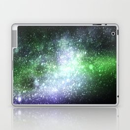 Falling sparkles Laptop & iPad Skin