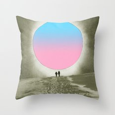 Looking for colors Throw Pillow