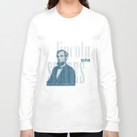 lincoln Long Sleeve T-shirts featuring Lincoln by Thomas Official