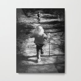 The Sincerest Form of Flattery Metal Print