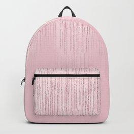 Glamorous blush pink girly glitter Backpack