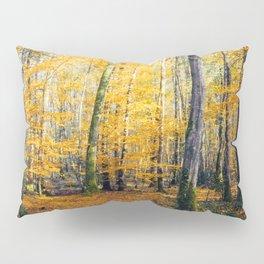 Yellow Trees Pillow Sham