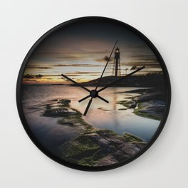 I walk the line Wall Clock