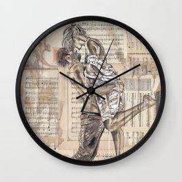 Good Morning Dearie Wall Clock