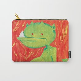 Little Green Demon Baby Carry-All Pouch