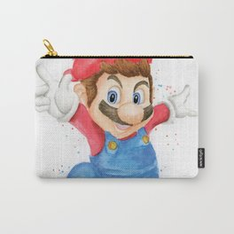 Skateboarder Mario Carry-All Pouch