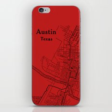 Vintage Austin Red iPhone & iPod Skin