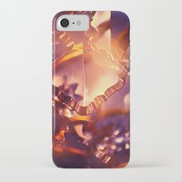 chandelier iPhone & iPod Cases featuring chandelier by Madara Upmane
