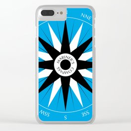 Mariner's Compass Clear iPhone Case