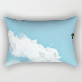 Hot air balloon. Rectangular Pillow
